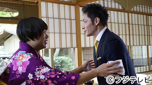 ドラマ「キャリア~掟破りの警察署長~」に出演する(左から)南海キャンディーズしずちゃん、玉木宏。