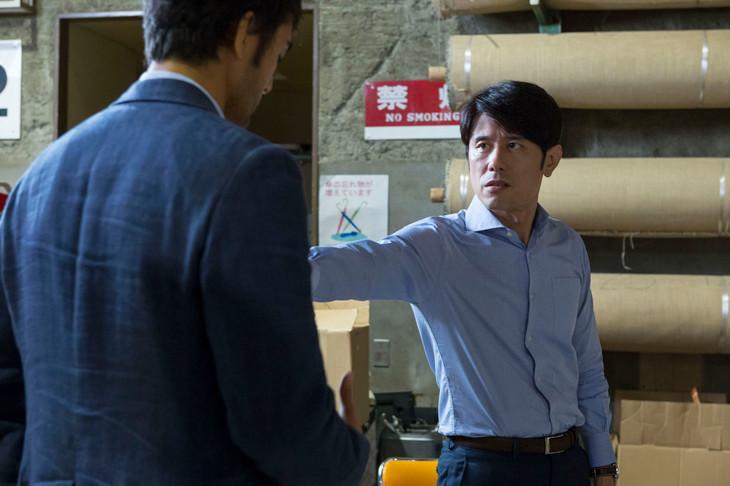 「スニッファー 嗅覚捜査官」第5話に登場するネプチューン原田。(c)NHK
