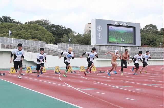 「吉本陸上競技会ザ・ゴールデン2016」のワンシーン。(c)MBS