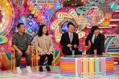 (左から)FUJIWARA藤本、ピース又吉、雨上がり決死隊。(c)テレビ朝日