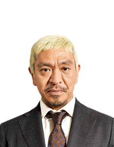 「M-1グランプリ2017」で審査員を務める松本人志。