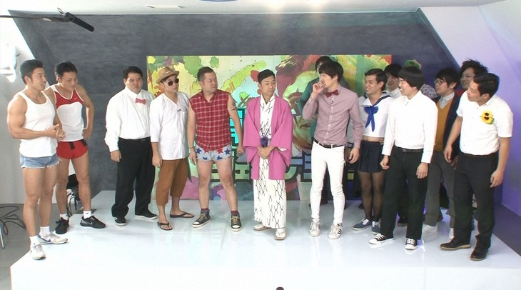 (左から)「シゲオボーイズ」と「有田ジェネレーションズ」のメンバー。(c)TBS