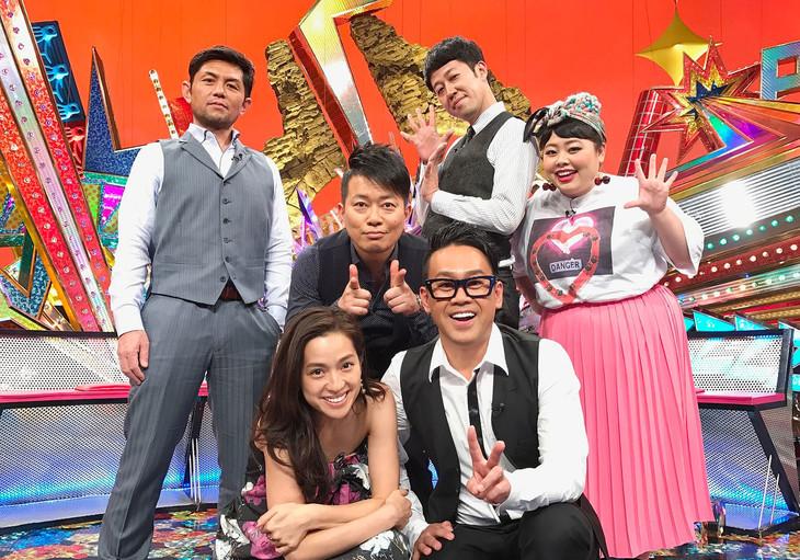 「噂の現場にチョクメン!マコトシヤカ」の出演者たち。(c)テレビ東京