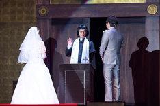エレキコミック今立の結婚式の様子。(撮影:キクチサトル)