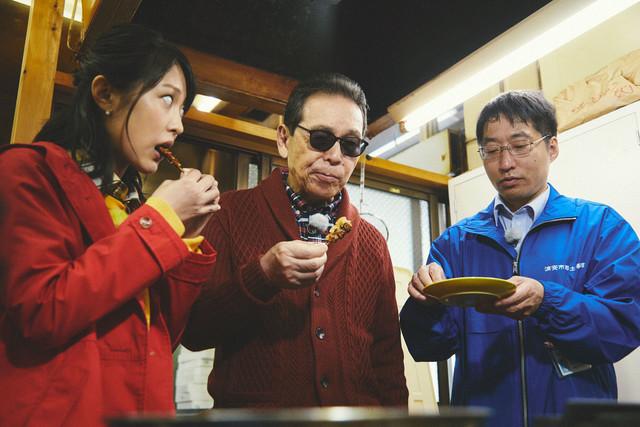 「ブラタモリ」1月7日放送回のワンシーン。(c)NHK