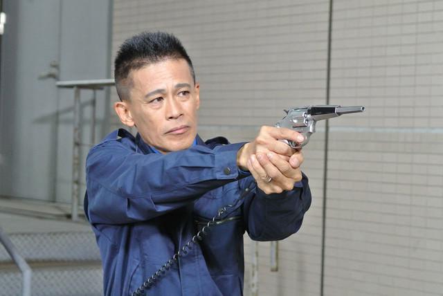 「劇場版 ウルトラマンオーブ 絆の力、おかりします!」に出演する柳沢慎吾。