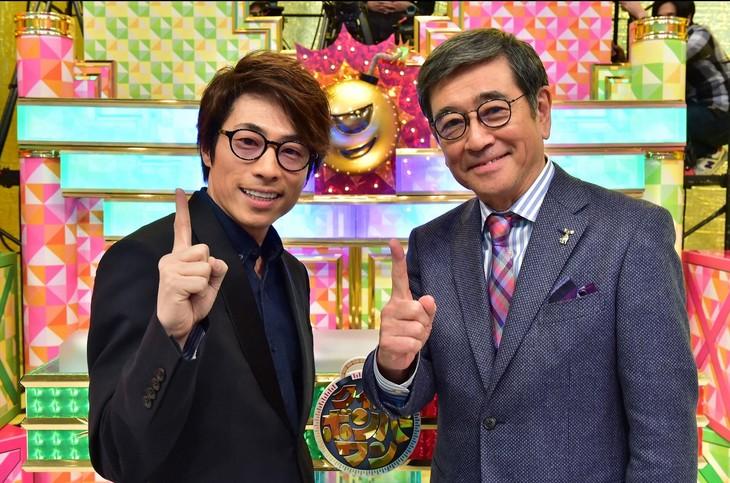 ロンブー淳が石坂浩二とMCタッグ...