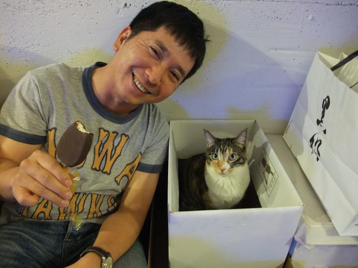 「猫と田中」に収録されるスナップ。(撮影:東MAX)