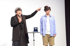 「TANSU FUCHIGAMI」専属モデルを紹介するYOKO FUCHIGAMI。
