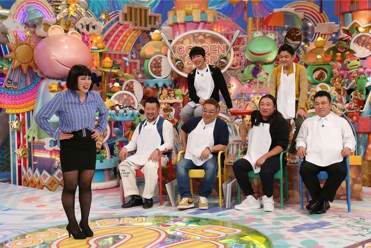 「日曜もアメトーーク!2時間スペシャル」に登場する「カレー大好き芸人」たち。(c)テレビ朝日