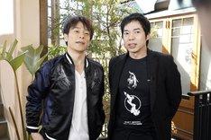 MCを務める(左から)陣内智則、今田耕司。(c)読売テレビ