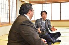 「石橋貴明のスポーツ伝説…光と影」のワンシーン。(c)TBS