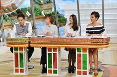 FUJIWARA原西(左端) (c)TBS