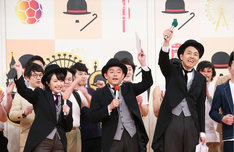 「これからチャップリン」に出演するメンバー。(c)テレビ東京