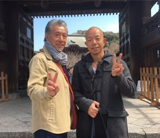 (左から)高田純次、バイきんぐ小峠。(c)テレビ朝日