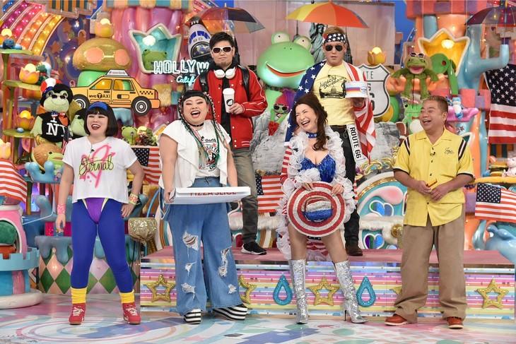 「アメトーーク!」に出演する「アメリカにかぶれてます芸人」たち。(c)テレビ朝日