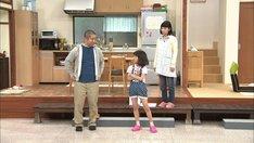 「舞台バラエティ 澤部パパと心配ちゃん」のワンシーン。(c)テレビ朝日
