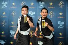 「サッポロ生ビール黒ラベル THE PERFECT BEER GARDEN 2017 OSAKA」パーフェクト店長のダイアン。