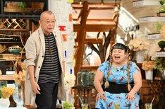 (左から)笑福亭鶴瓶、渡辺直美。(c)TBS