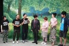 「にちようチャップリン テレ東お笑いフェス2017」のワンシーン。