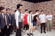 「これからチャップリン」チャンピオン大会に出演した芸人たち。
