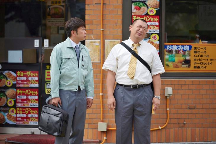 「警視庁ゼロ係~生活安全課なんでも相談室~SECOND SEASON」第3話にゲスト出演するTKO木本(左)と、レギュラー出演中の相方・木下。