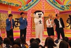 銀シャリとトレンディエンジェル。(c)中京テレビ