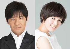 「全国小学生No.1超頭脳決定戦!」MCの(左から)内村光良、佐藤栞里。