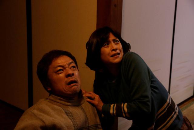 映画「デメキン」より、水玉れっぷう隊ケンの出演シーン。