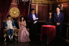 「情報プリンセス 銀シャリ宮殿」初回収録の様子。