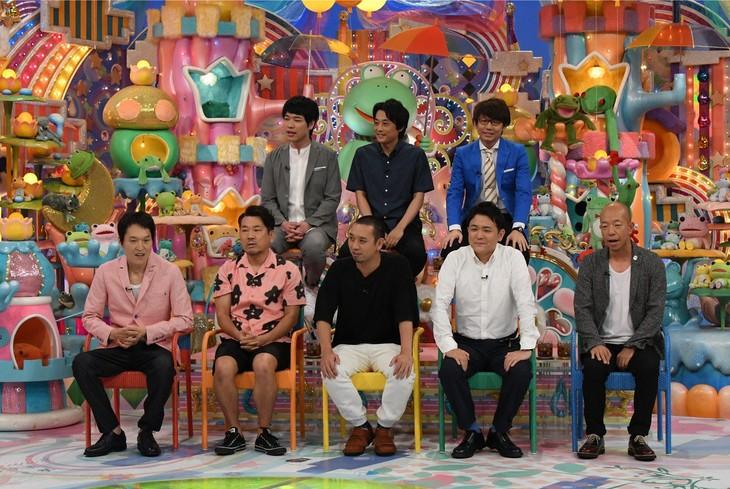 「日曜もアメトーーク!」の「珍プレー好プレーGP」に出演する芸人たち。(c)テレビ朝日