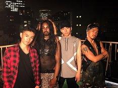 (左から)龍太-Ryota-、Cody、矢内康洋、ICHI。