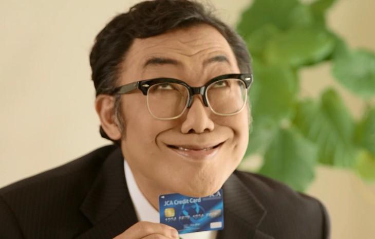 クレジットカードのセキュリティに関する動画「コロッ家の人々」に出演するコロッケ。