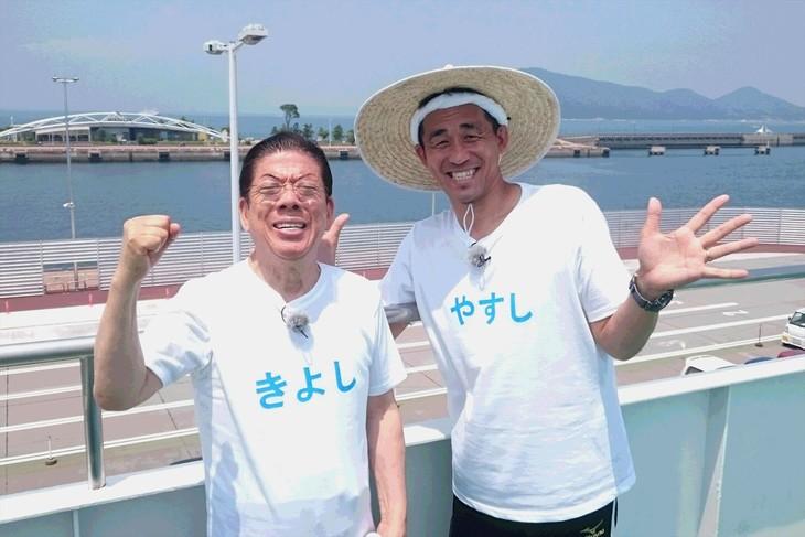 「やすしきよしの夏休み'17 わがまま爆笑珍道中!」に出演する(左から)西川きよし、石田靖。(c)関西テレビ