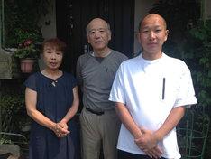 8月14日(月)に紹介される田島ディレクターの里帰りの様子。