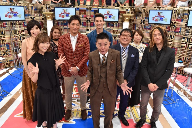 「新倫理バラエティー!太田光の正義か悪か!?」の出演者たち。(c)中京テレビ