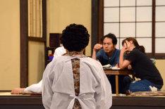 「あのころバラエティー・生放送!超ナウいテレビ」のリハーサルの様子。