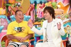 (左から)出川哲朗、狩野英孝。(c)テレビ朝日