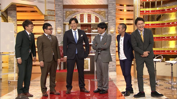 左からミキ、アルコ&ピース、千鳥。(c)テレビ朝日