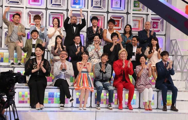 「ザ・タイムショック 最強クイズ王決定戦SP 2017秋」の解答者たち。(c)テレビ朝日