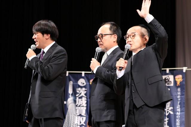 「東京ポッド許可局2017ジャパンツアー」最終日公演のワンシーン。