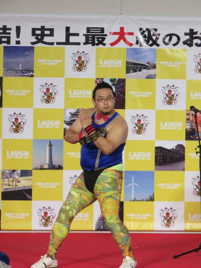 「OWARAI EXPO」よりGONZO。