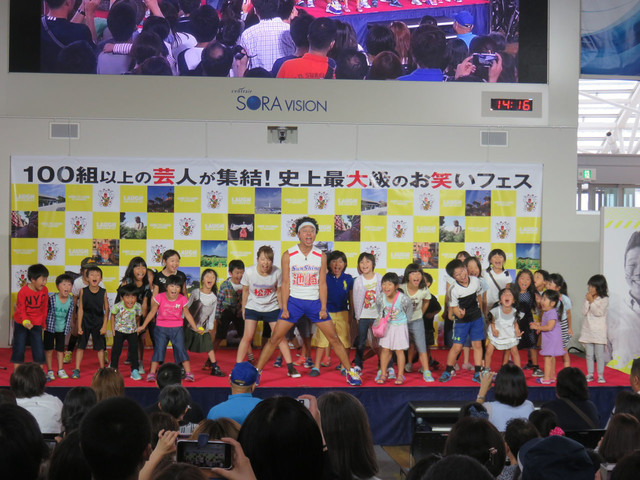「OWARAI EXPO」よりサンシャイン池崎。