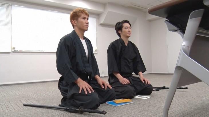 ブリリアンへの密着VTRのワンシーン。(c)日本テレビ
