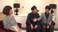「湘南美容外科クリニック」の新Web動画に出演する、アンジャッシュと田上よしえ(左)。