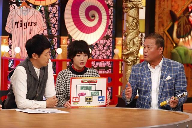 「コヤぶるッ!SPORTS」のワンシーン。(c)関西テレビ
