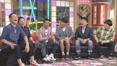 (左から)東野幸治、今田耕司、かみじょうたけし、ますだおかだ岡田、雨上がり決死隊。(c)CBC