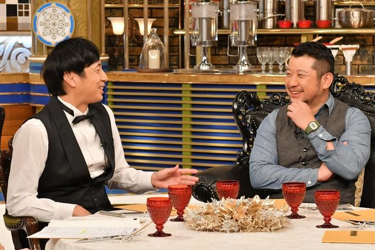 「人生最高レストラン」に出演する(左から)チュートリアル徳井、ケンドーコバヤシ。(c)TBS