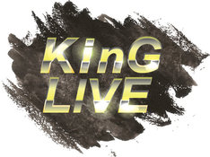 「KinG LIVE」ロゴ