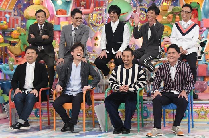 「アメトーーク!」で展開される「相方のツッコミ最高~芸人」に出演する芸人たち。(c)テレビ朝日